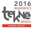 Tekne Award Finalist 2016 logo