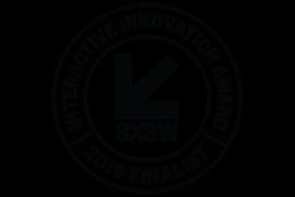 Finalista de los Premios a la Innovación Interactiva SXSW 2019 logo