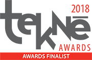 Tekne Award Finalist 2018 logo