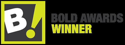 Ganador del premio BOLD 2019 logo