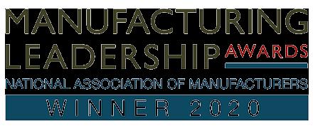 Ganador del premio al liderazgo en fabricación 2020 logo